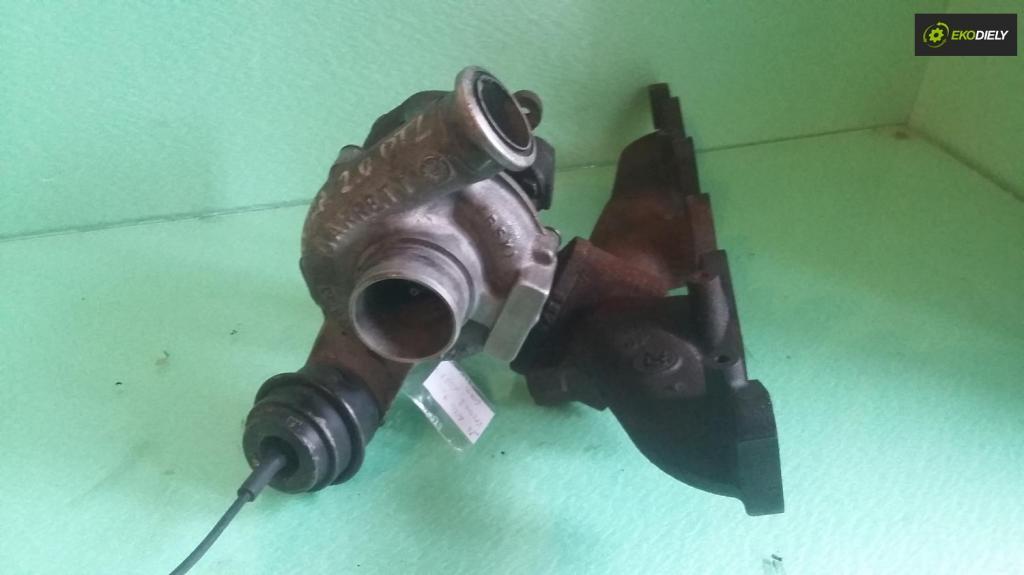 turboduchadlo, turbo Opel Astra G, Vectra B, 2.0DTI,  60kW; č. 90531518,