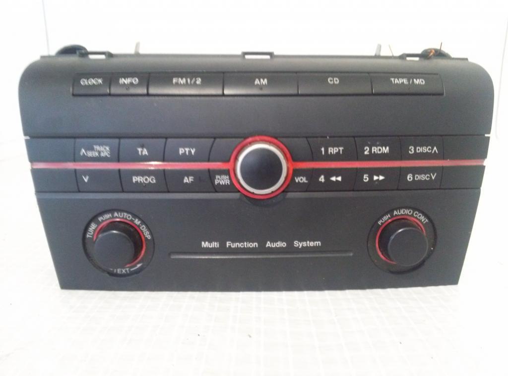 RADIO CD Mazda 3 r.v. 2006-2009  03h1b53270