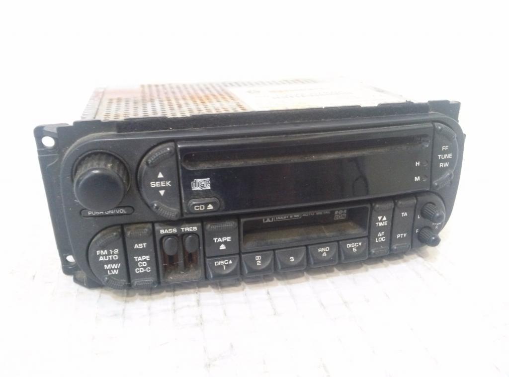Radio Chrysler Voyager IV P04858543AF 17719A  AA3470A0610