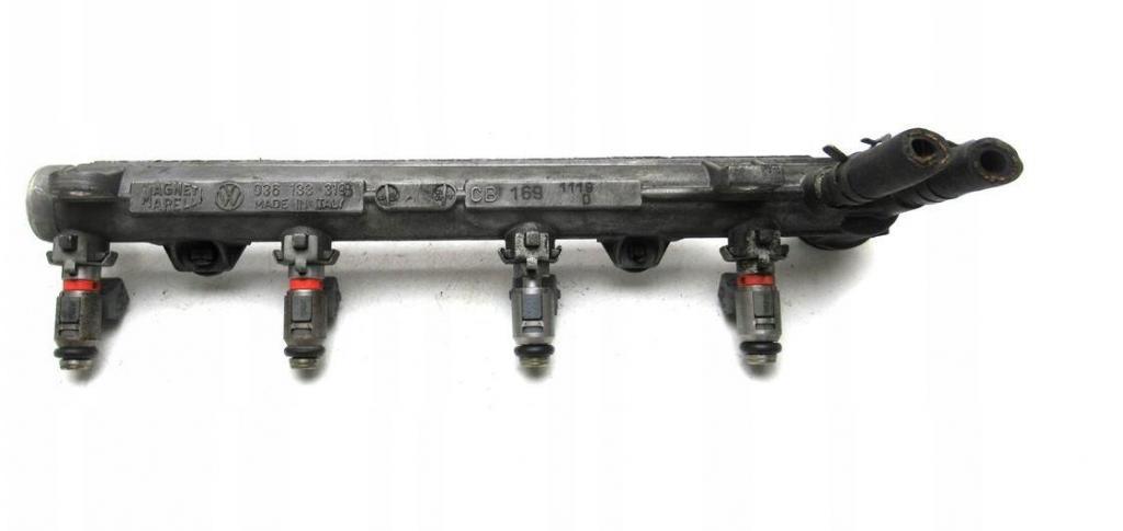 Lišta vstrekovacia, Vstrekovače VW Golf IV 1.4B 55kW r.v. 97-03   036133319B