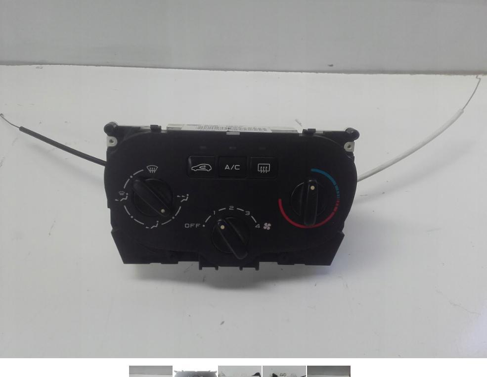 Panel kúrenia klimatizácie Peugeot 307 2002 r.