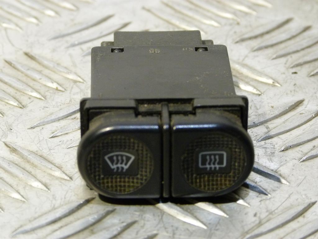 Prepínač vyhrievania čelného a zadného okna (skla) VW Sharan, Seat Alhambra, Ford Galaxy Mk1 r.v. 1996-2010