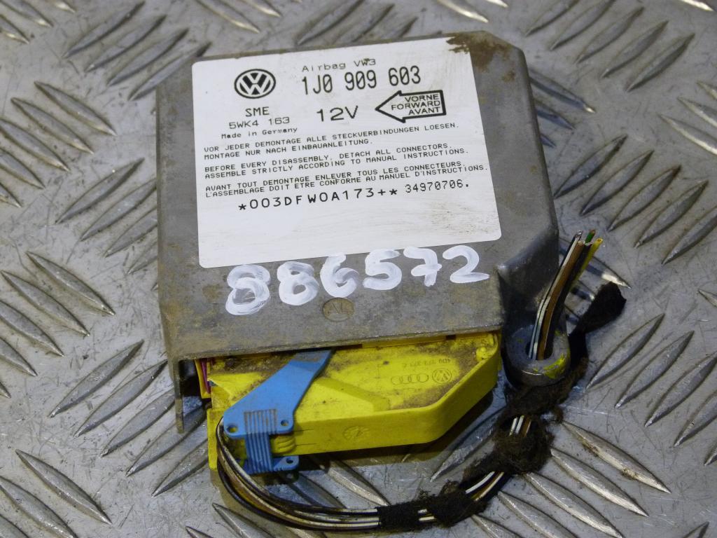 Riadiaca jednotka airbagov Škoda Octavia I 1j0909603, 5wk4163