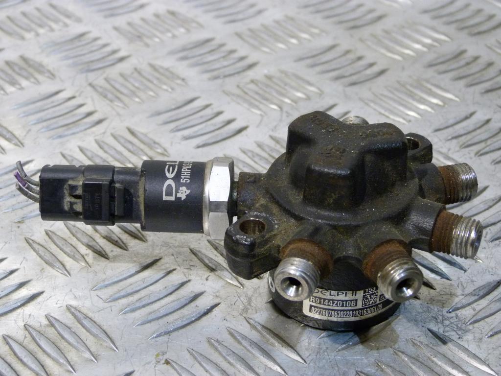 Rozdeľovač paliva + snímač tlaku Renault Megane, Clio, Kangoo, Thalia 1.5 DCI 8200057345, 9307z502b, r9144z010b, 8200057232
