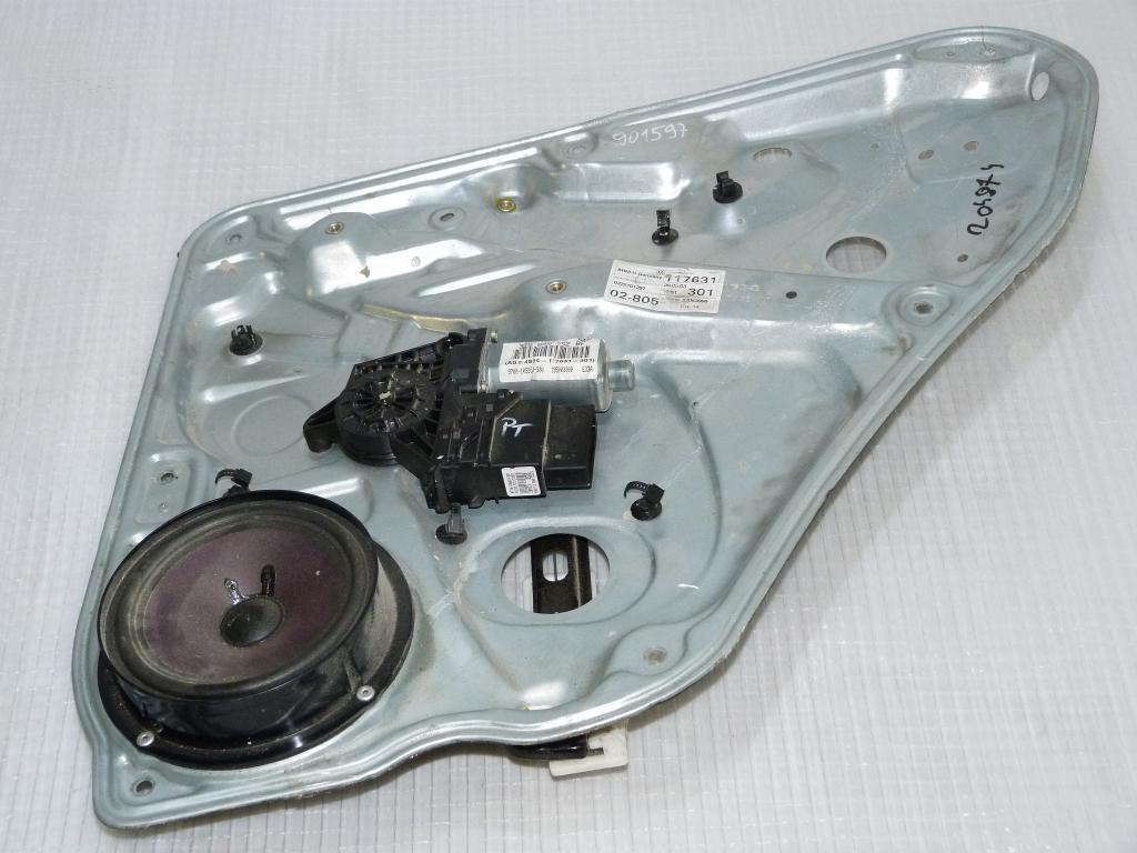 Mechanizmus okna + motorček zadný pravý VW Passat B5,5 Combi 3b9839752bf, 0322101297