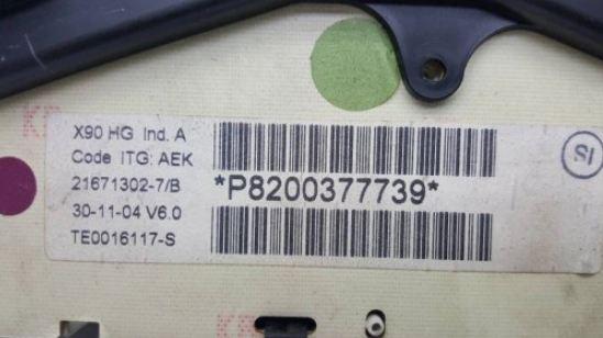 prístrojovka displej DACIA LOGAN 1.4 MPI 8200377739