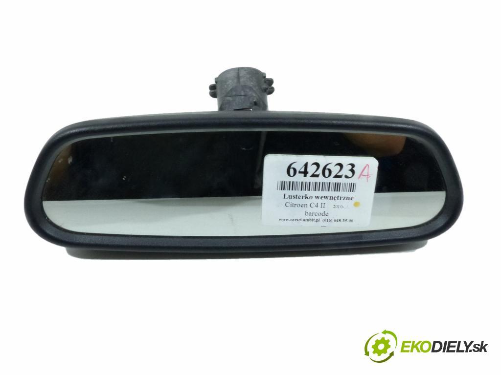 Citroen C4 II 2010-2017 1.6 HDI  82 kW 1600 cm3  Spätné zrkadlo vnútorné  (Spätné zrkadlá vnútorné)