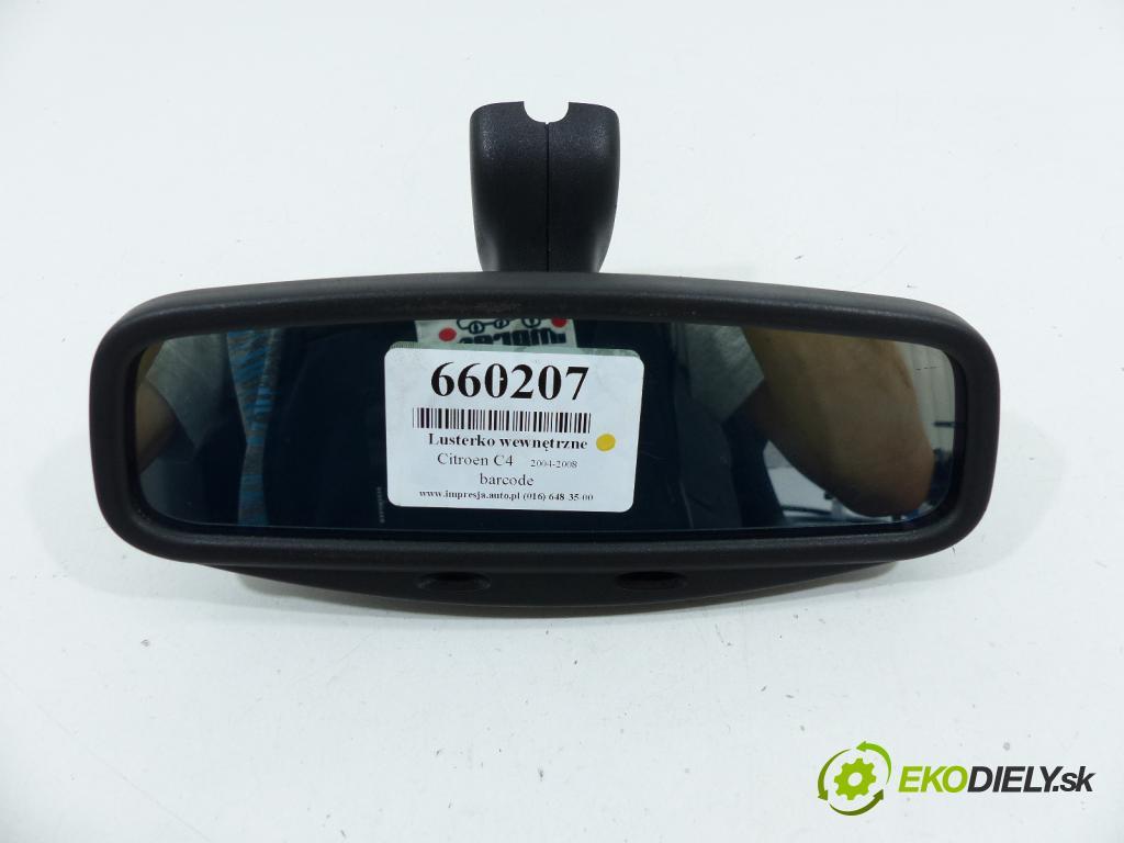 Citroen C4 2004-2011 2.0 16V 140 HP  103 kW 2000 cm3  Spätné zrkadlo vnútorné  (Spätné zrkadlá vnútorné)