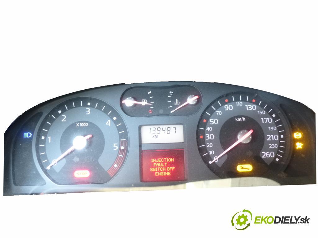 Renault Laguna II 2001-2007 1.9 DCI 131 HP  96 kW 1900 cm3  Prístrojovka  (Prístrojové dosky, displeje)