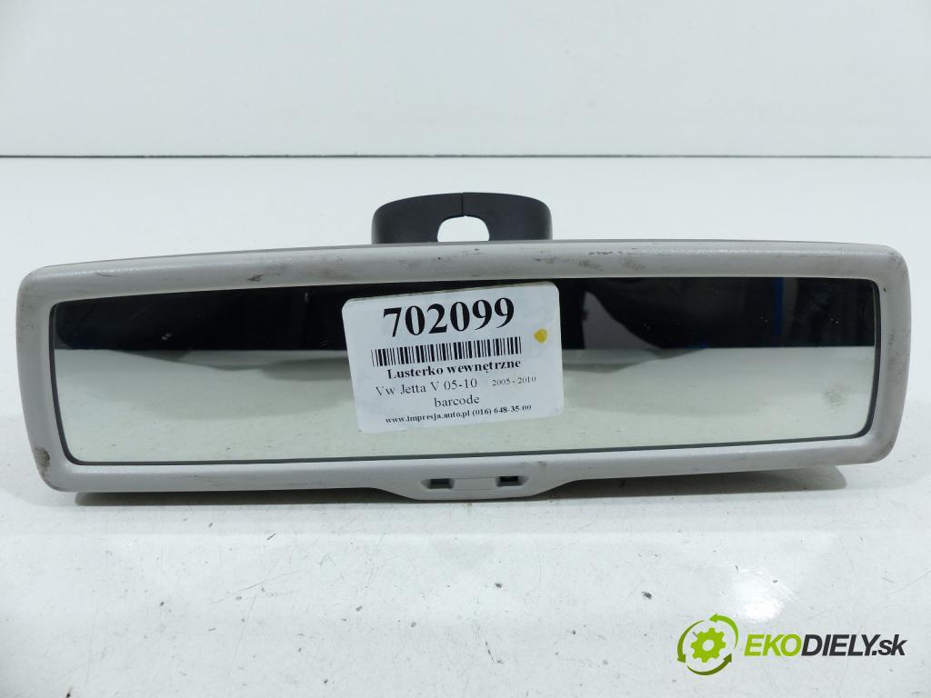 Vw Jetta V 2005-2010 1.9 TDI 105 HP  77 kW 1900 cm3  Spätné zrkadlo vnútorné  (Spätné zrkadlá vnútorné)