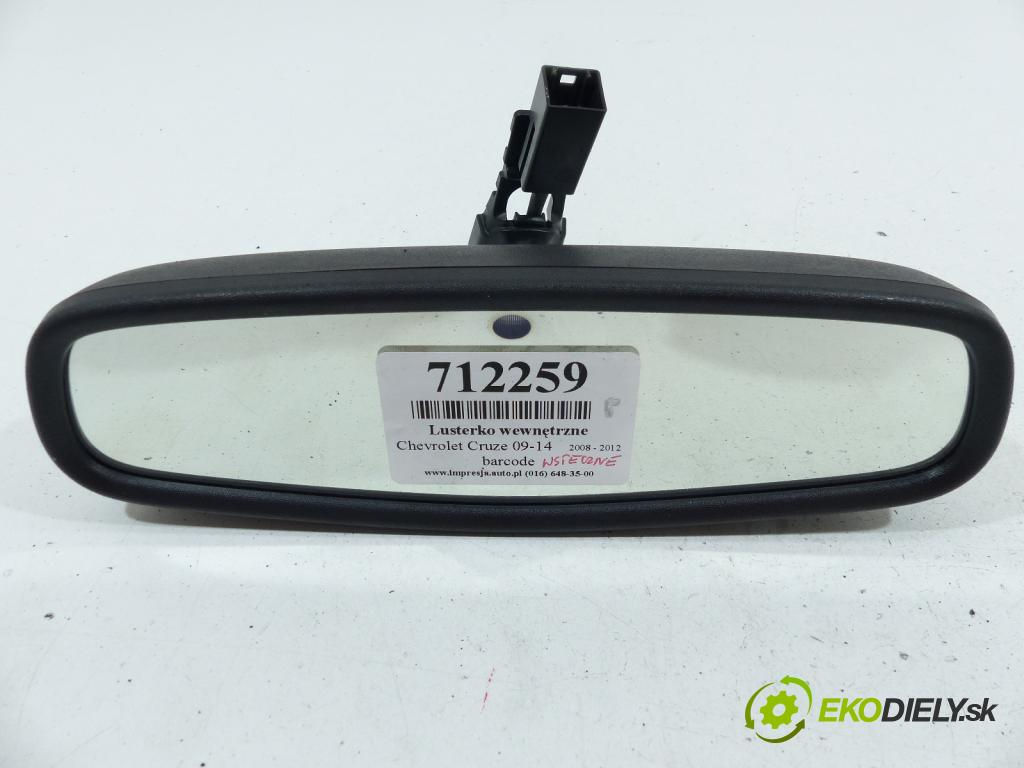 Chevrolet Cruze 2.0 VCDI 150 HP  110 kW 2000 cm3  Spätné zrkadlo vnútorné  (Spätné zrkadlá vnútorné)