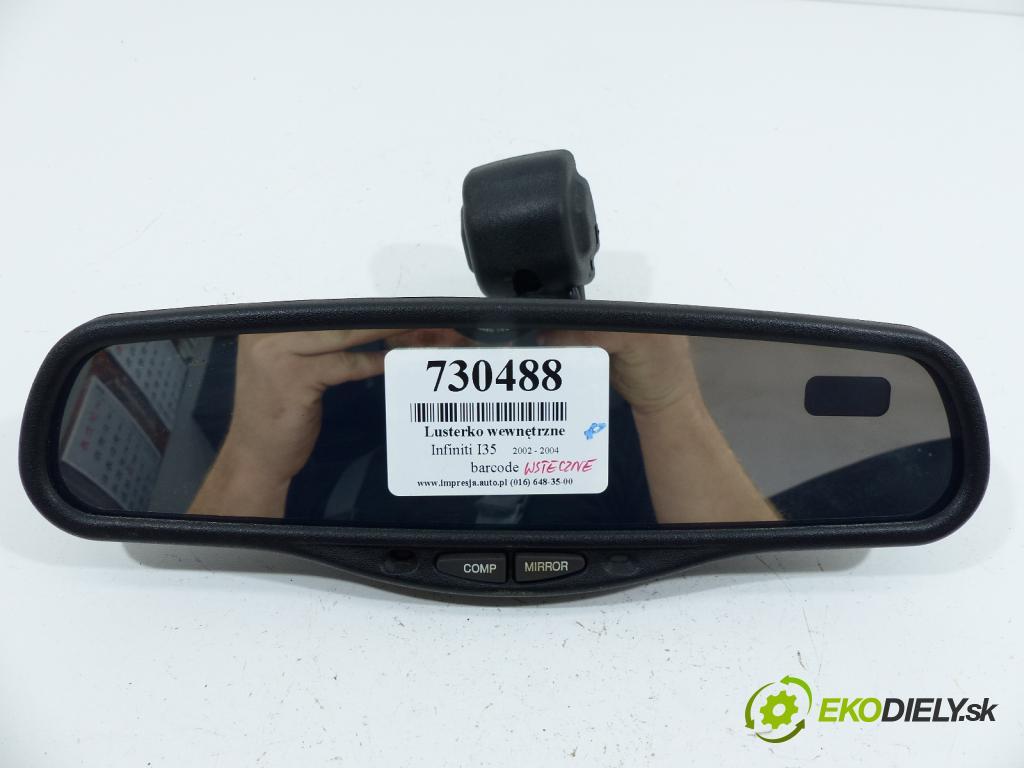 Infiniti I35 3.5 V6 258 HP  190 kW 3500 cm3  Spätné zrkadlo vnútorné  (Spätné zrkadlá vnútorné)