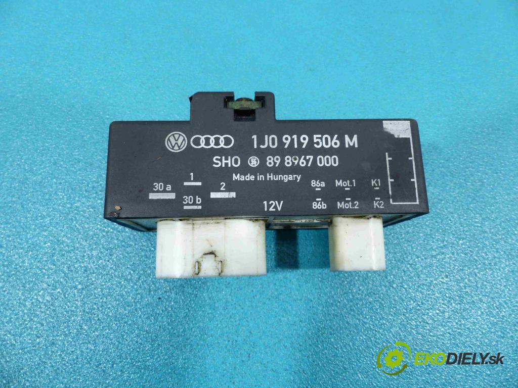 Skoda Fabia II 2007-2014 1.9 TDI 105 HP manual 77 kW 1896 cm3  relé 1J0919506M (Relé)