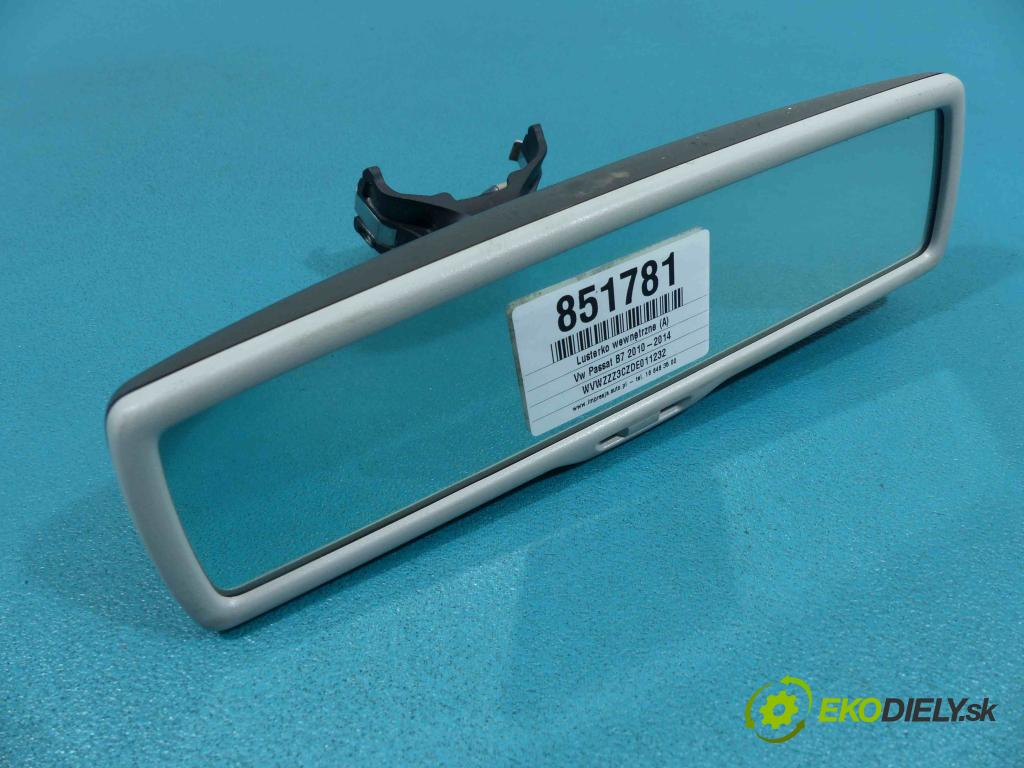 Vw Passat B7 2010-2014 2.0 TDI CFF 140 HP automatic 103 kW 1968 cm3  Spätné zrkadlo vnútorné E11026141 (Spätné zrkadlá vnútorné)