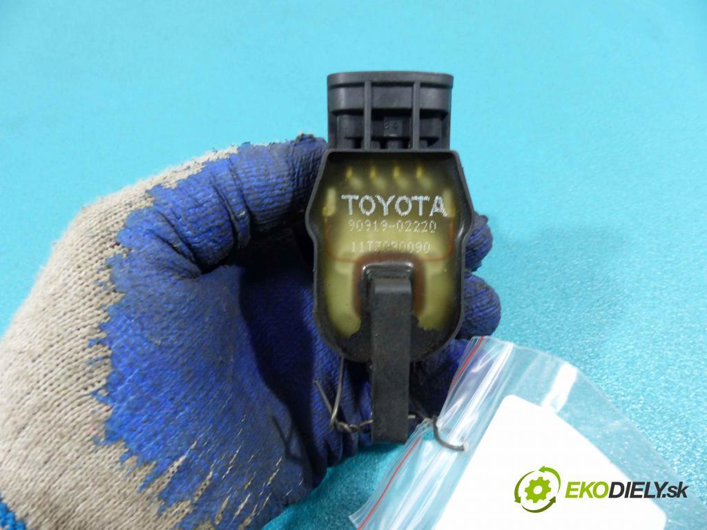Toyota Corolla E11 1997-2002 1,4.0 16V 86 HP manual 63 kW 1332 cm3  Cievka zapaľovacia 90919-02220 (Zapaľovacie cievky, moduly)