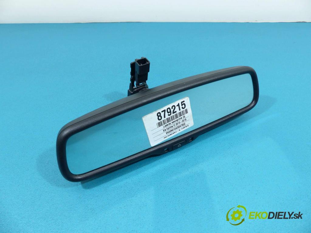 Kia Optima III 2010-2015 1.7 CRDi 136 HP manual 100 kW 1685 cm3  Spätné zrkadlo vnútorné  (Spätné zrkadlá vnútorné)