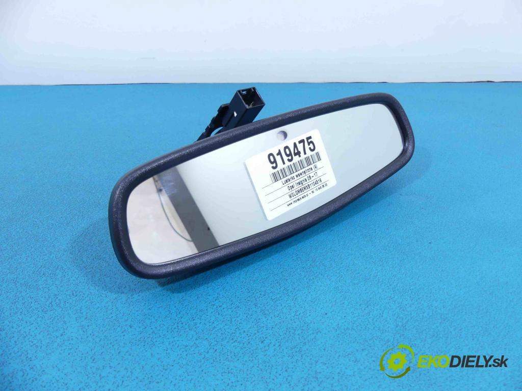 Opel Insignia 08-17 2.0 cdti 160 HP manual 118 kW 1956 cm3 5- zrkadlo uvnitř: 13324809 (Spätné zrkadlá vnútorné)