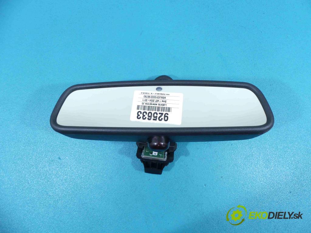 Bmw 1 e87 2004-2011 1.6 16v 122 HP manual 90 kW 1599 cm3 5- zrkadlo uvnitř: E11015891 (Spätné zrkadlá vnútorné)