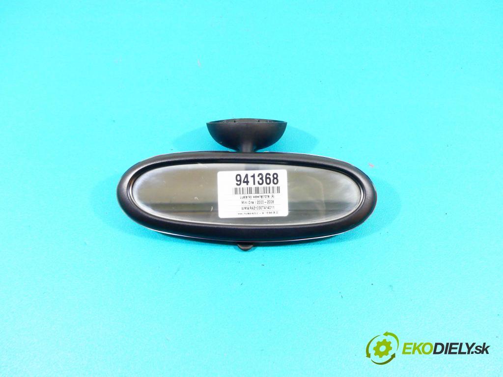 Mini One I 2000-2006 1.6 16v 90 HP manual 66 kW 1598 cm3 3- zrkadlo uvnitř:  (Spätné zrkadlá vnútorné)