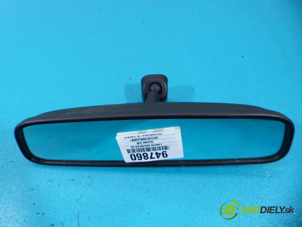 Hyundai Ix35 2.0 16V 163 HP manual 120 kW 1998 cm3 5- zrkadlo uvnitř:  (Spätné zrkadlá vnútorné)