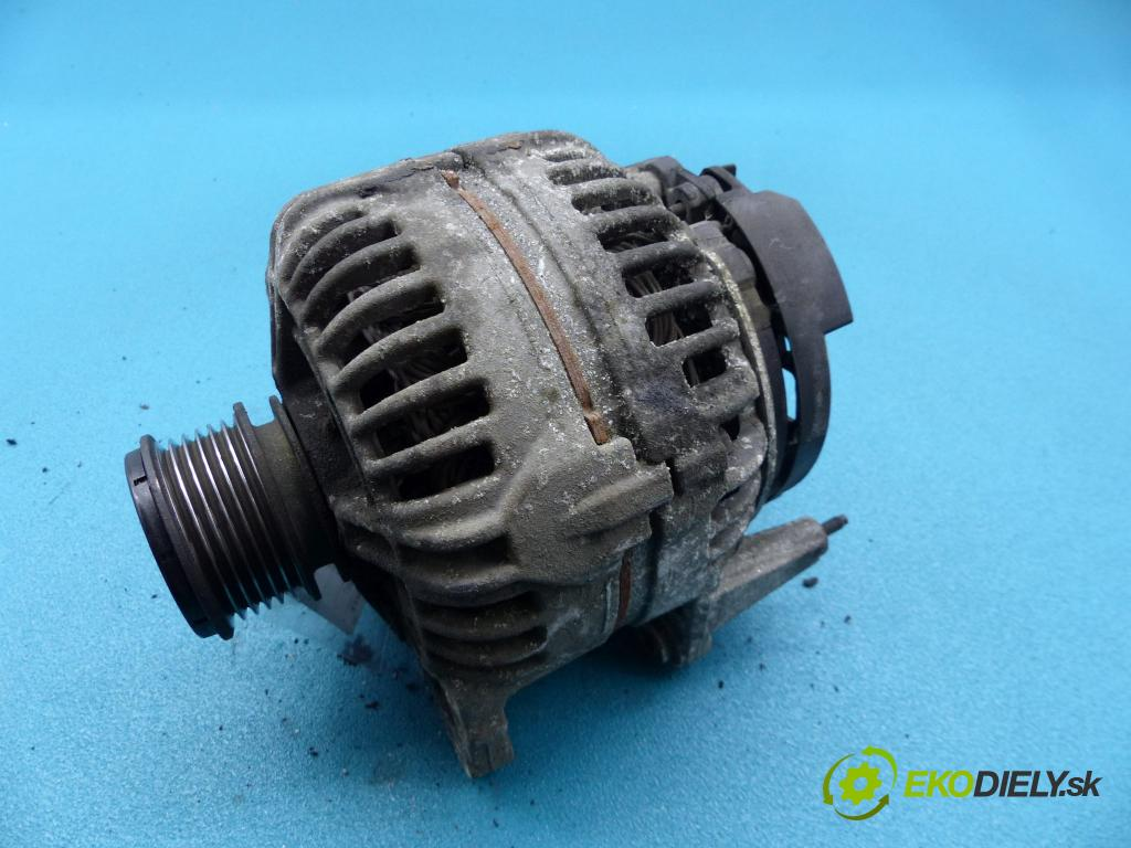 Dodge Caliber 2.0 CRD 140 HP manual 103 kW 1968 cm3 5- Alternator 0124615038 (Alternátory)