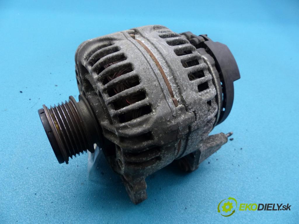 Skoda Octavia II 2004-2013 1.6 8v 102 HP manual 75 kW 1595 cm3 5- Alternator 0124525091 (Alternátory)