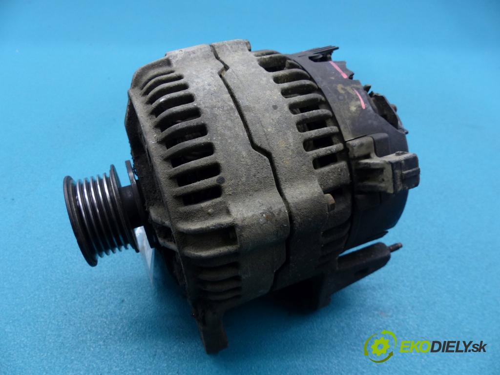 Vw Caddy II 9K 1996-2004 1.9 sdi 64 HP manual 47 kW 1896 cm3 5- Alternator 0123505011 (Alternátory)