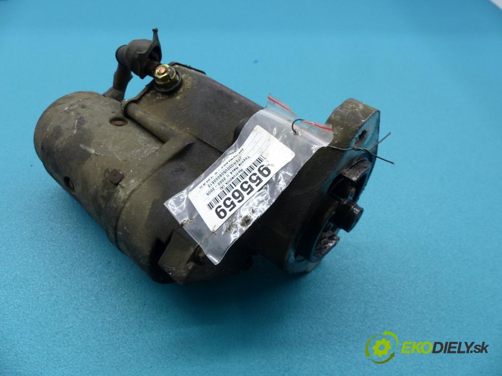 Toyota Rav4 II 2000-2005 2.0 D4D 116 HP manual 85 kW 1995 cm3 5- štartér 28100-64430 (Štartéry)