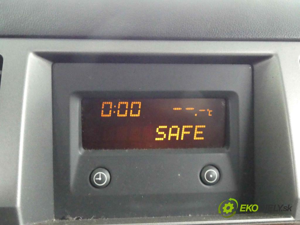 Opel Vectra C 2002-2008 2.0 dti 101 HP manual 74 kW 1995 cm3 4- Zobrazit: 09177133 (Prístrojové dosky, displeje)