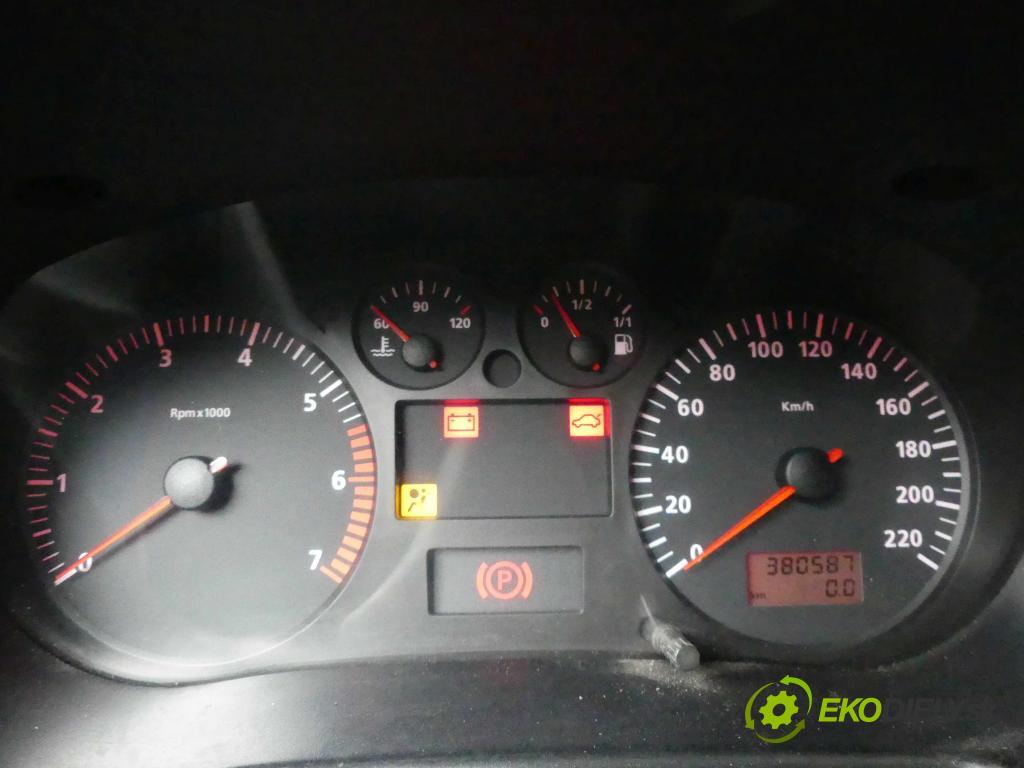 Seat Cordoba I 1993-2002 1.6 75 HP manual 55 kW 1595 cm3 5- prístrojovka/ budíky W06K0920850 (Prístrojové dosky, displeje)