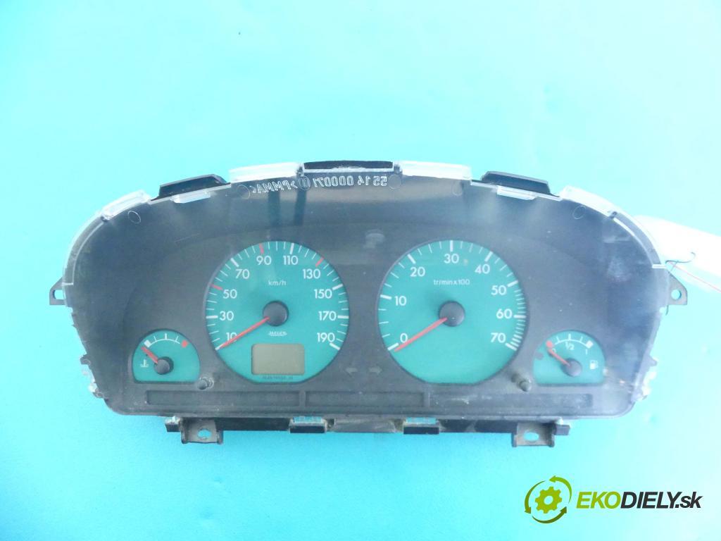 Peugeot Partner I 1996-2008 1.6 16v 109 HP manual 80 kW 1587 cm3 5- prístrojovka/ budíky 9639368680 (Prístrojové dosky, displeje)