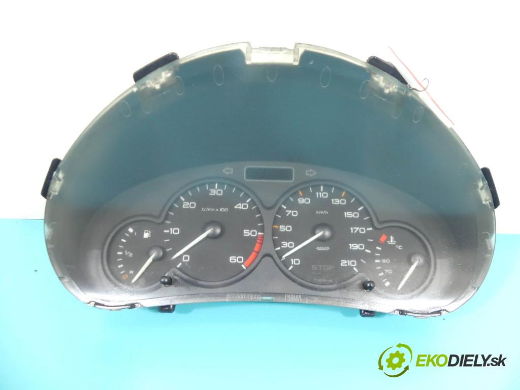 Peugeot 206 2.0 hdi 90 HP manual 66 kW 1997 cm3 5- prístrojovka/ budíky 9645096080 (Prístrojové dosky, displeje)