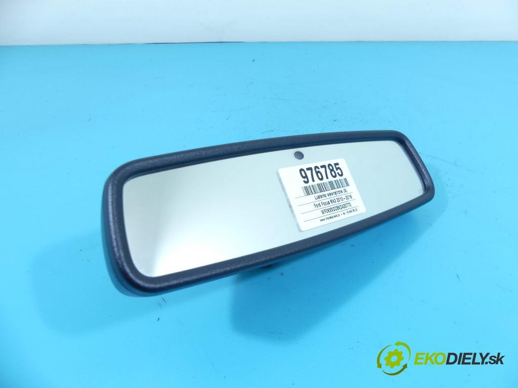 Ford Focus Mk3 2010-2018 1.6 tdci 95 HP manual 70 kW 1560 cm3 5- zrkadlo uvnitř: AU5A17E678AC (Spätné zrkadlá vnútorné)