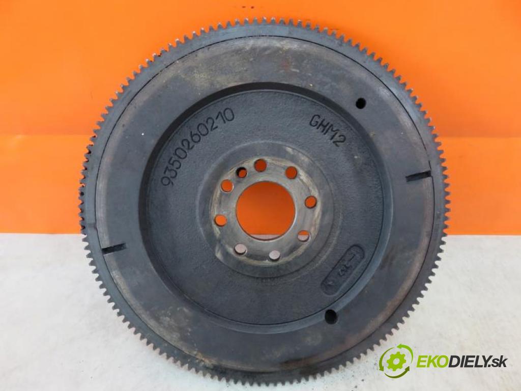 PEUGEOT 306 1.9 SRDT DHY (XUD9TE) manual 5 - stupňová 66 kW 90 km  Koleso zotrvačníkové 9350260210 (Zotrvačníky)