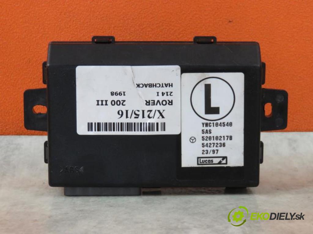 ROVER 200 III (RF) 1.4 8V 214 I 14 K2F manual 5 - stupňová 55 kW 75 km  MODUL immobilizera YWC104540/52010217B (Ostatné)
