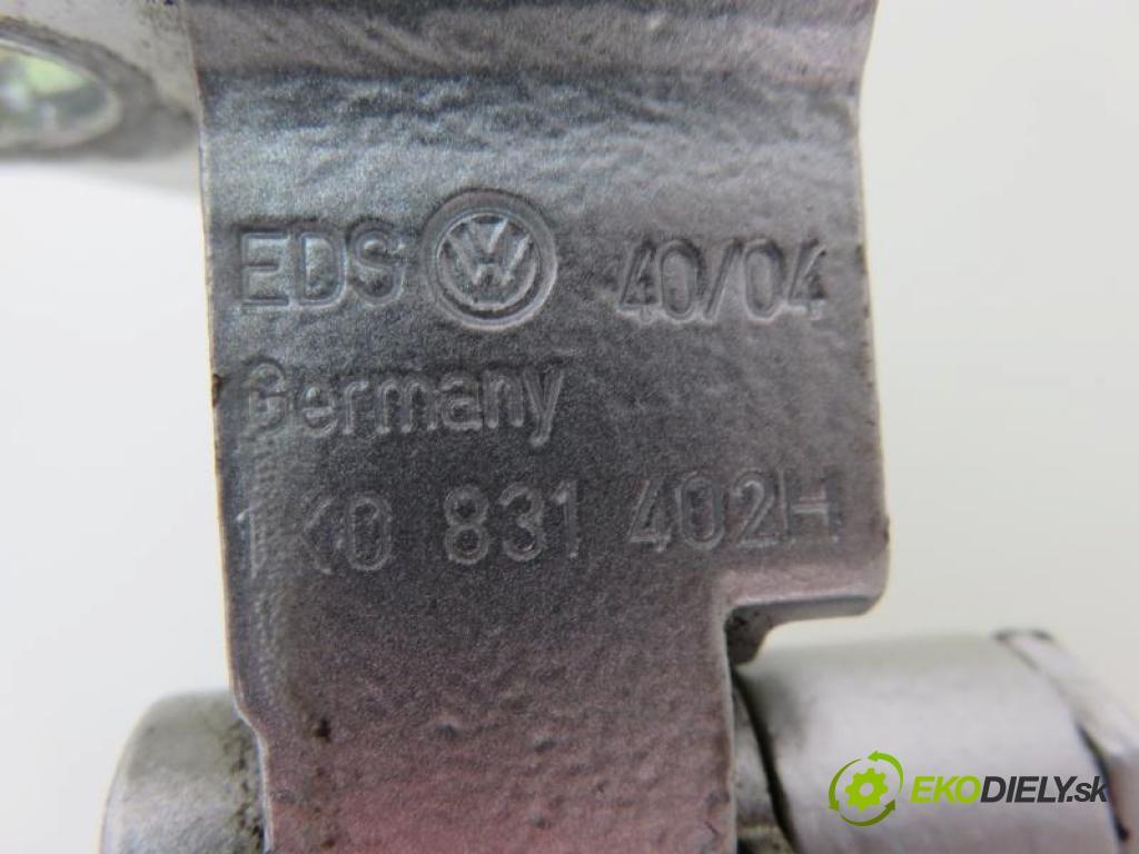 VW GOLF V 5 1.9 TDI BKC, BXE, BLS manual 5 - stupňová 77 kW 105 km  Záves Dvere PP 1K0831402H (Závesy)