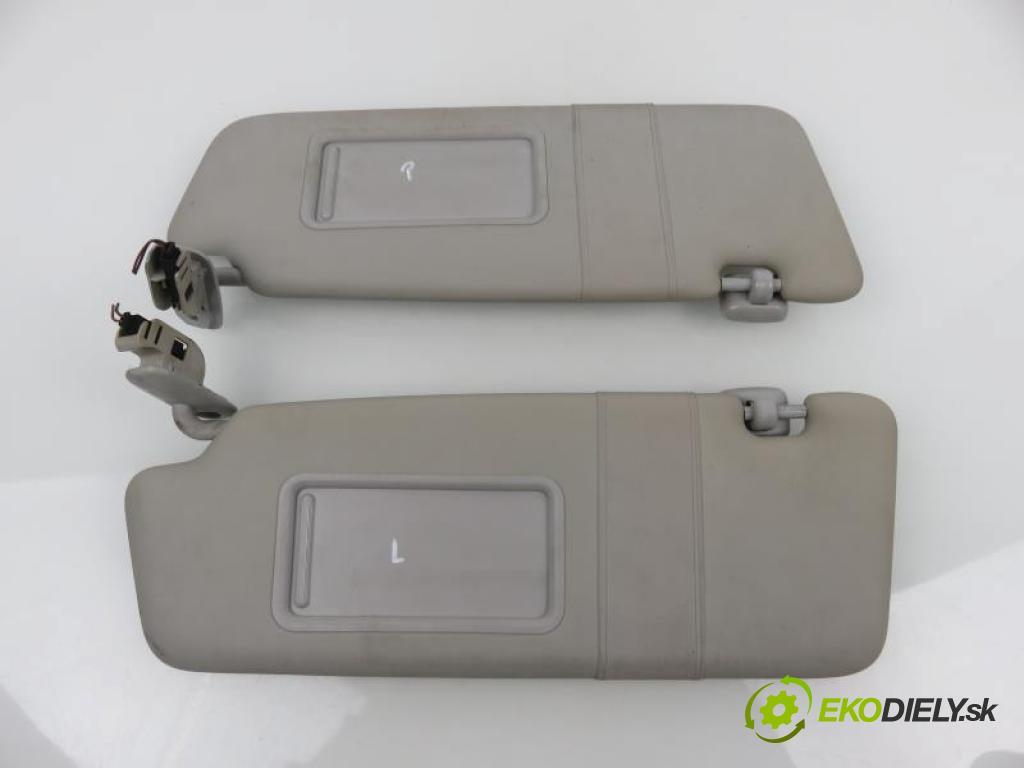 AUDI A3 (8P1) 2.0 TDI 16V CFFB, CBAB, BKD, CLJA manual 6 - stupňová 103 kW 140 km  kryty protislnečné  (Slnečné clony)
