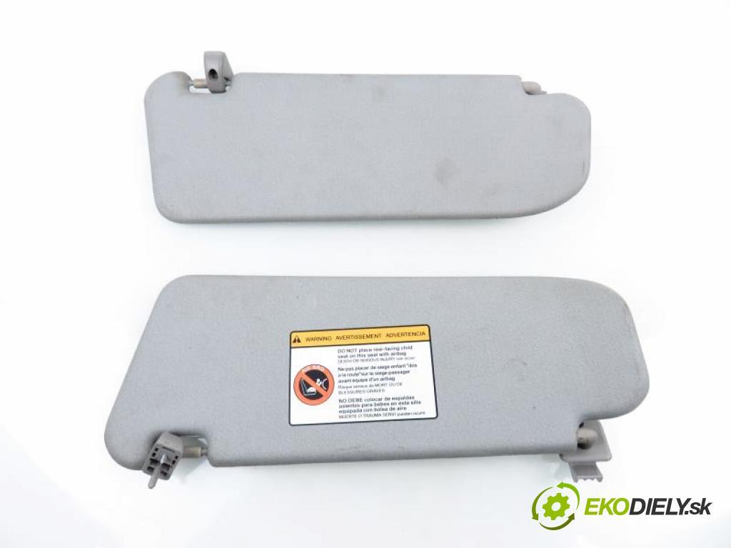 CHEVROLET AVEO (T250,T255) 1.2 S-TEC II 16V B12D1, LMU manual 5 stupňová 62 kW 84 km  kryty protislnečné  (Slnečné clony)
