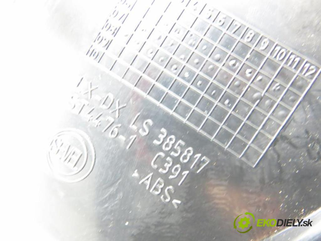 CITROEN JUMPER II 2.2 HDI 120 4HU (P22DTE) manual 6 stupňová 88 kW 120 km  Mriežky kúrenia pravá LS385818 (Mriežky kúrenia (fukáre))