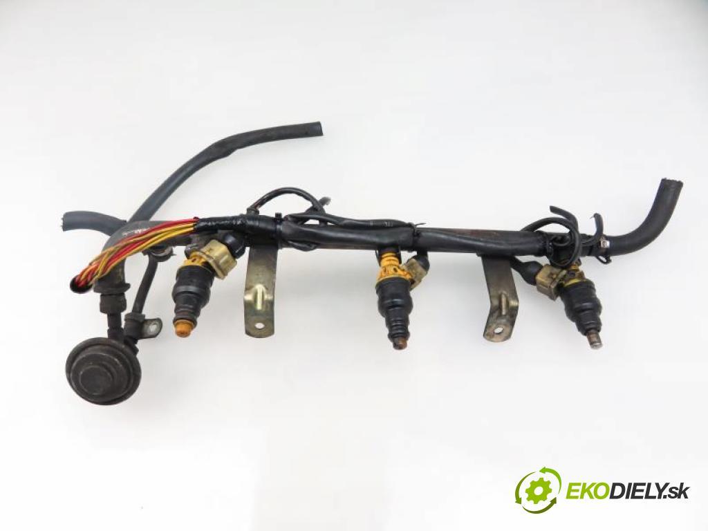 ALFA ROMEO 156 2.5 V6 24V (932A1) AR 32401, AR 32402 manual 5 stupňová 140 kW 190 km  Lišta vstrekovacia 0280150702 (PALIVOVÝ SYSTÉM)