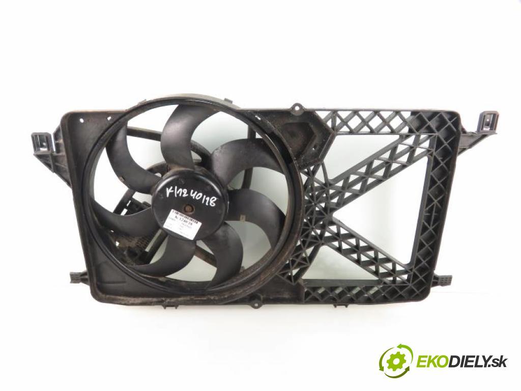 FORD TRANSIT VII 2.2 TDCI P8FA, P8FB manual 5 stupňová 63 kW 85 km  ventilátor chladič vody 6C118C607A/6C118C607AD/940002906 (Ventilátory)