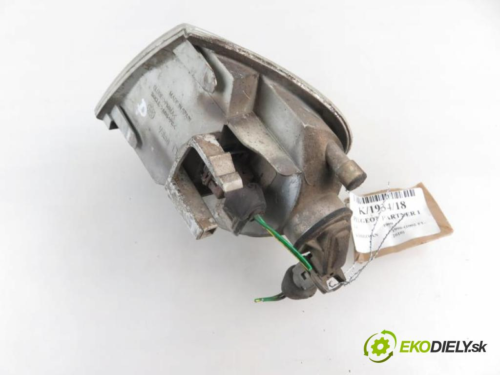 PEUGEOT PARTNER I 1.4 KFX (TU3JP), KFW (TU3JP), TU32 manual 5 stupňová 55 kW 75 km  Smerovka PP 67724581 (Smerovky)