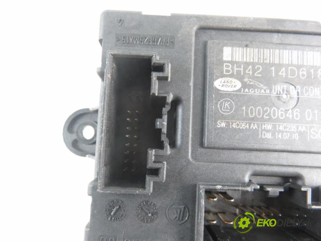 JAGUAR XF I (X250) 5.0 V8 508PN automatic 6 stupňová 283 kW 385 km  MODUL Dvere BH4214D618AA/1002064601/14C064AA (Moduly komfortu)