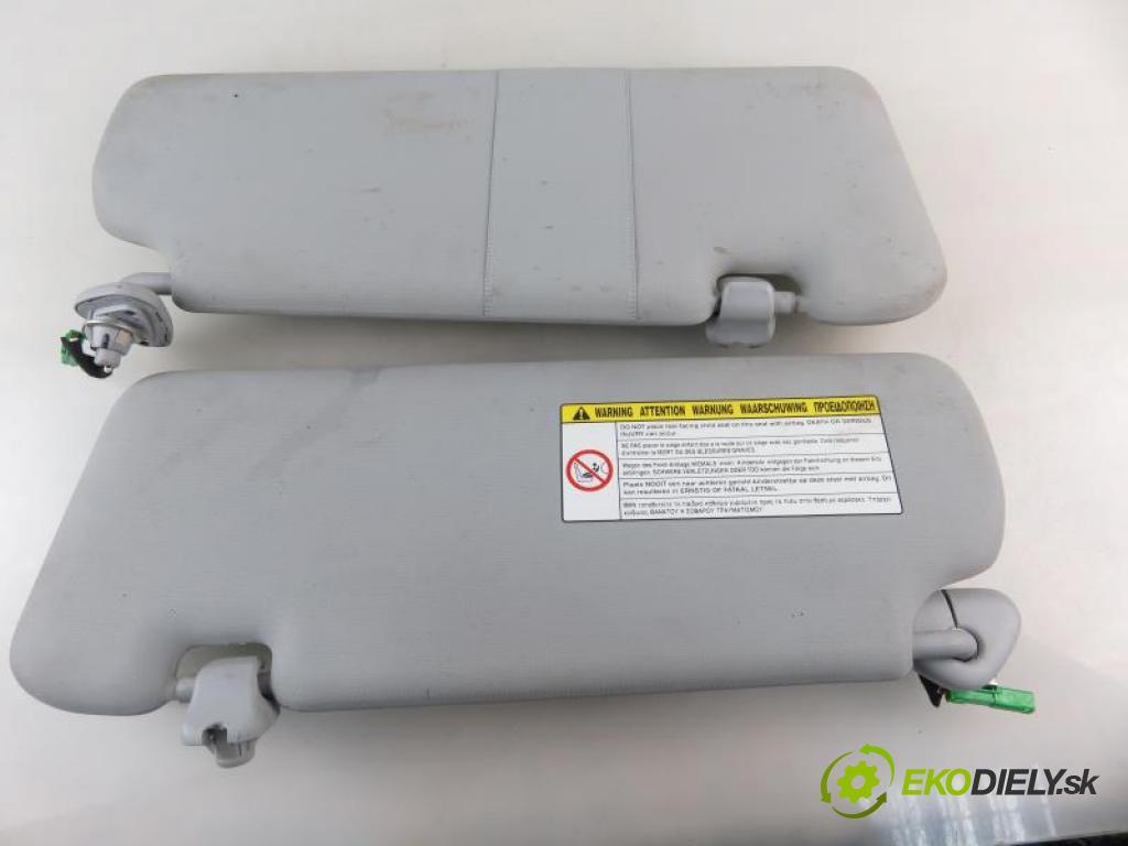 HONDA CR-V III (RE) FL 2.2 I-DTEC 4WD N22B3 automatic 5 stupňová 110 kW 150 km  kryty protislnečné  (Slnečné clony)