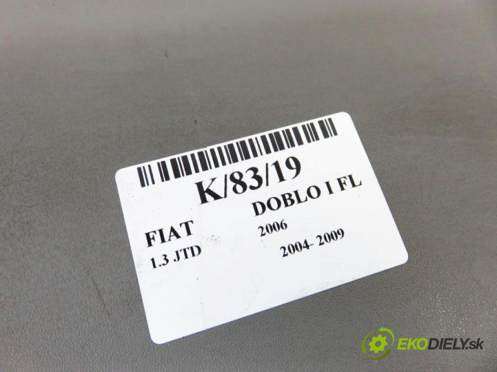 FIAT DOBLO I FL 1.3 JTD 199 A2.000 manual 5 stupňová 55 kW 75 km  Stropný tapacír 735270773 (Stropné tapacíre)