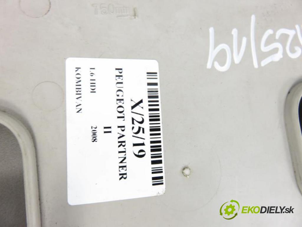 PEUGEOT PARTNER II 1.6 HDI 9HZ (DV6TED4) manual 5 stupňová 80 kW 109 km  Stropný tapacír  (Stropné tapacíre)