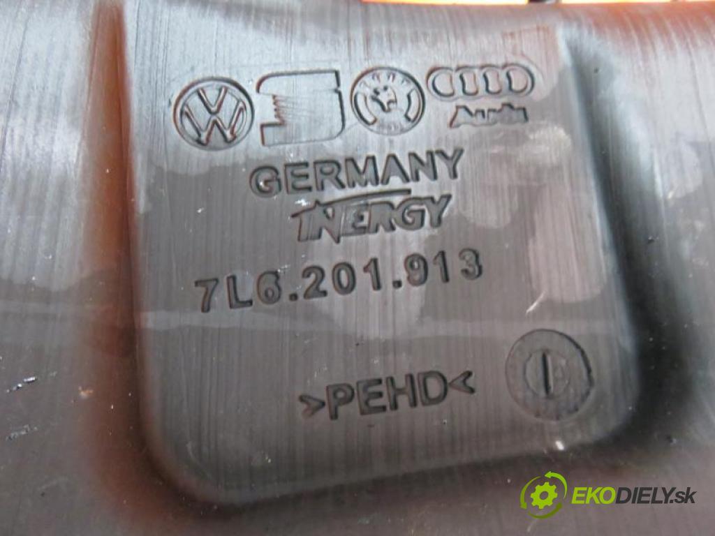 VW TOUAREG I 5.0 V10 TDI BLE, BWF, AYH automatic převodovka 4X4 230 kW 313 km  nádržka paliva diesel 7L6201913 (Nádrže)