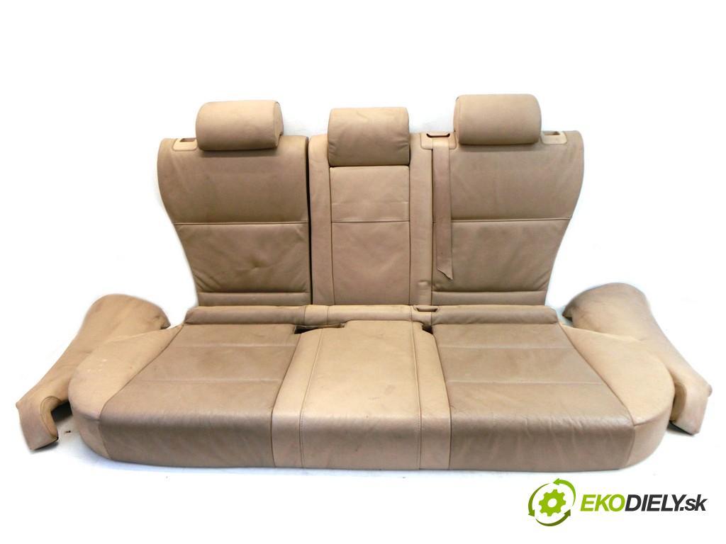 BMW X5  2002 135KW E53 3.0D 24V 184KM 99-06 3000 Sedadlo zad  (Sedačky, sedadlá)