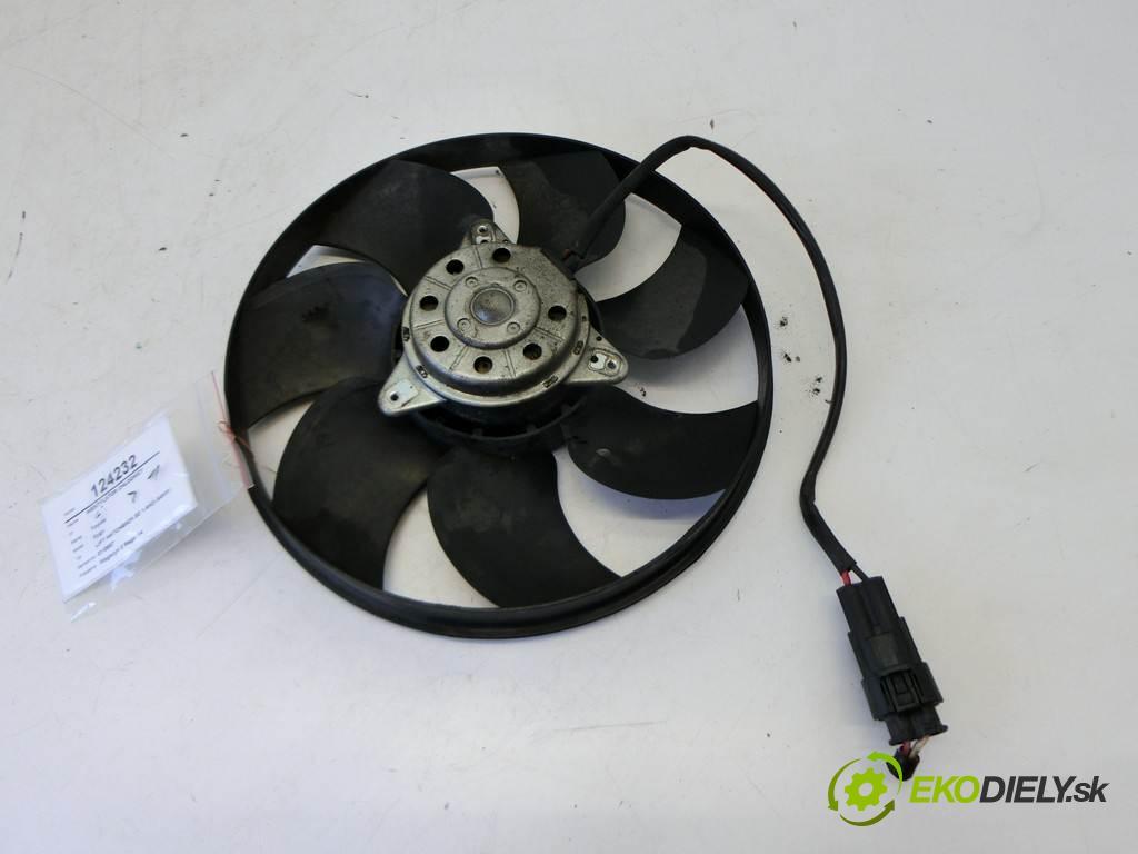 Toyota Aygo  2010  LIFT HATCHBACK 3D 1.4HDI 54KM 08-12 1400 ventilátor chladiče  (Ventilátory)