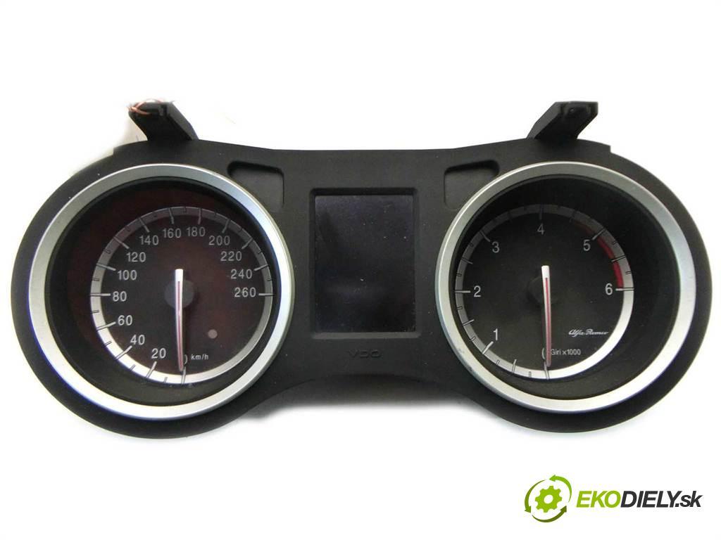 Alfa Romeo 159  2008  SEDAN 4D 1.9JTDM 150KM 04-11 1900 Prístrojovka 56079251 (Prístrojové dosky, displeje)